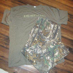 Carhartt Camo Hunting pants 38X30 Bergara shirt